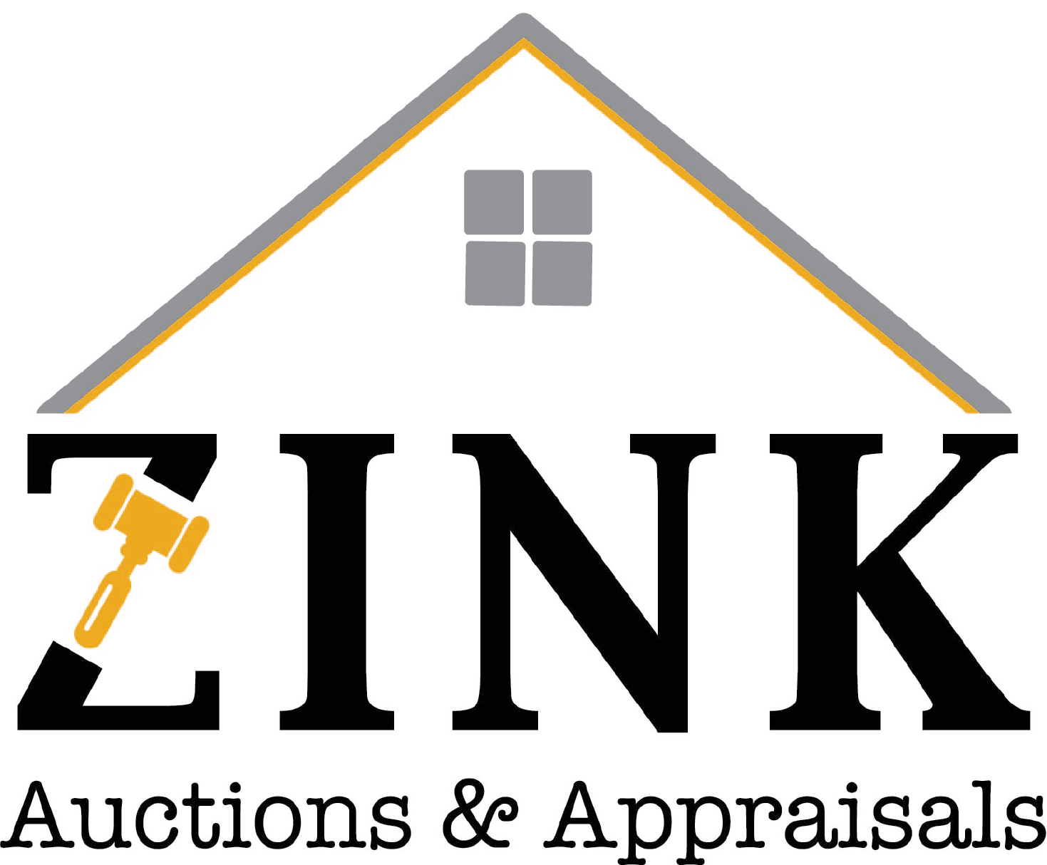 Zink Auctions and Appraisals Logo