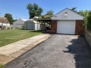 Side View of 6619 Danville Avenue, Baltimore, MD 21224